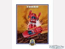 Tonka Toys 80s Gobots Turbo Giclee Print Promo Poster Artwork Art Illustration