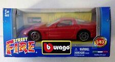Bburago Street Fire 1:43 2004 Chevrolet Corvette Italian Design China Burago