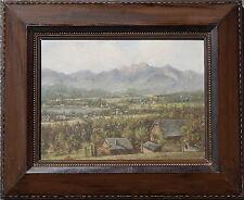 Velden, Wörthersee, um 1900, Öl auf Holz, gerahmt