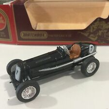 """Matchbox Models Of Yesteryear Y/14 Black 1935 E.R.A """"R.1B"""" Minty Mib 1:43"""