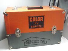 Vintage.General.Electric. Color.T.V.Repairman.Servic e.Box.