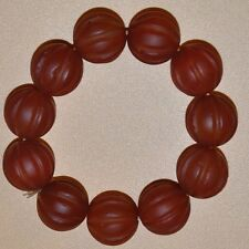 "Certification of 100% natural agate beads bracelet to wear ""class a"" - red"