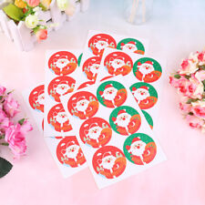 30pcs Merry Christmas Badge Sticker Envelope Seal Wrapping Stickers