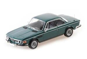 BMW 2800 CS - 1968 - DARK GREEN 410029021 Minichamps 1:43 New!