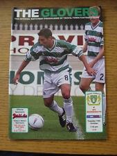 14/10/2003 Yeovil Town v Bournemouth [LDV Vans Trophy] . Item In very good condi
