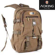 Rucksack Sport Reise Wander Schul Tasche Canvas Day Back Pack Outdoor Freizeit *