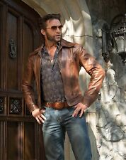 X Men Wolverine Days of Future Past Tan Brown Real Leather Jackets