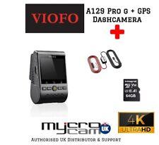 VIOFO A129 Pro 4K DashCam GPS. SONY Sensor Wifi Parking Mode+64GB+Hardwire