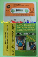 MC GINO BRAMIERI 3 Devo sempre raccontare barzellette italy AR no cd lp dvd vhs