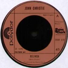 """[DAVE CLARK] JOHN CHRISTIE ~ BELINDA / HOME ~ 1975 UK 7"""" SINGLE"""