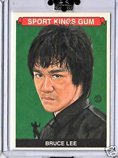 BRUCE LEE SP 2010 SPORTKINGS GREEN HORNET FISTS FURY ENTER THE DRAGON GAME DEATH