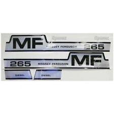New Massey Ferguson 265 (Hump) Decal Set