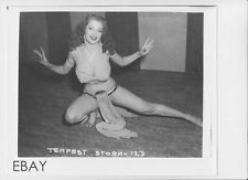 Tempest Storm busty leggy RARE Photo