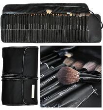 35 pcs Professional Makeup Brush Set (All-Time Artist Pure Black Design) #811