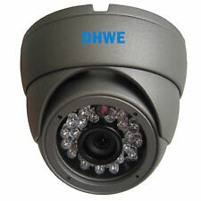 CCTV Dome Camera 800TVL CMOS 960H High Resolution 20 Meter Infrared Vandalproof