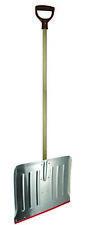 PVR 46cm Aluminium Winter Snow Shovel With Wooden Handle