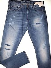 Calvin Klein Jeans men's skinny fit catania jeans size 33x32   NEW