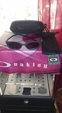 Oakley Mag Four S DARK CARBIDE BLACK IRIDIUM Magnesium Rare collectibles.