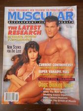 Muscular Development Magazine 1995 June Gerard Dente Amy Lynn Amy Fadhli