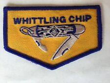 Whittling' Chip pocket flap shaped