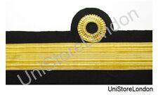 Band Rang Ärmel Curls Kommodore 2nd Klasse Marine Gold Draht R970