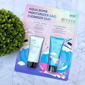 BELIF AQUA BOMB DUO - MOISTURIZER THE TRUE CREAM 75ml & JELLY CLEANSER 100 ml