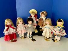 """Effanbee 11"""" Day By Day Complete Set 7 Days of the Week Dolls 1980 A/O Ex/Mint"""