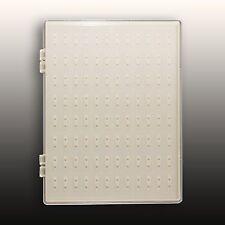 Präsentations Display Weiss für 96 Tips Nageldesign Nailart Box #00964