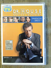 Dr. House medical division stagione due disco 1 film DVD editoriale