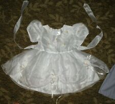 FANCY~ULTRA GIRL SIZE 2 WHITE PARTY DRESS