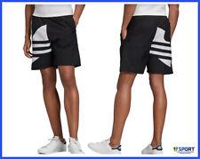 Adidas Originals Short da Uomo Big Trefoil Track Nero Taglia XL codice Fm9900