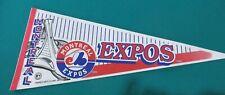 MONTREAL EXPOS BASEBALL PENNANT FULL SIZE 1994 MINT