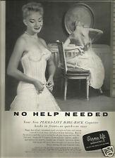 50's Perma-Lift Bra Ad 1957