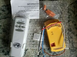 Hampton Bay Receiver FAN-18R and Remote Control - New (open packaging)