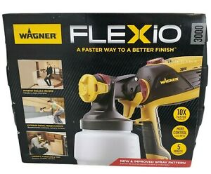 Wagner Flexio 3000 HVLP Paint Sprayer Indoor Outdoor 0529085