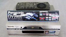 NV-DV2000 Panasonic Mini-DV Recorder Sony DHR-1000 NV-DV10000 JVC HR-DVS Profi