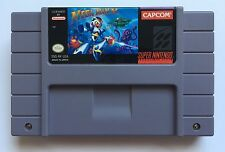 Super Nintendo SNES Mega Man X Megaman X Authentic Video Game Cartridge