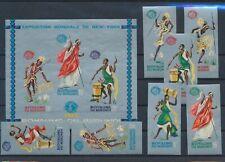 LL92810 Burundi New York World Fair imperf fine lot MNH