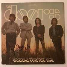 Robby Krieger Signed The Doors Waiting For The Sun LP Vinyl JSA # P57558 Auto