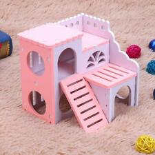 Rabbit Mice Chinchilla Hamster House Pet Cage Toy Nest Squirrel Bed Cage Board