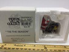 Department 56 Tis the Season #55395 Santa and Kettle Heritage Village Christmas