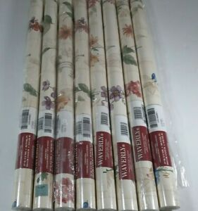 """Vintage WAVERLY Wallpaper 572500-8 Double Rolls 27""""x9 yd-60.75 sq ft Pre-Pasted"""