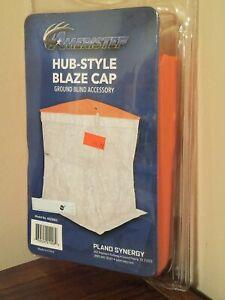 Ameristep Hub Style Blaze Cap Ground Blind Accessory - 4BZB002 - Orange