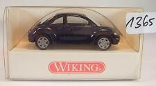 Wiking 1/87 n. 035 01 24 VW VOLKSWAGEN NEW BEETLE LIMOUSINE BLU SCURO ovp#1365