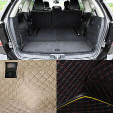 PU Leather Rear Trunk Cargo Liner Protector Mat Seat Back Pad For Dodge Journey