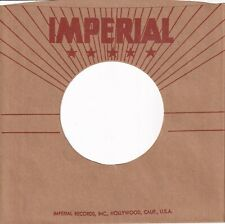 IMPERIAL Company Reproduction Record Sleeves - (pack of 10)