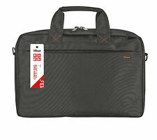 "NEW STYLISH TRUST 21030, BARI 13.3"" LAPTOP TABLET ULTRABOOK BLACK CARRY BAG"