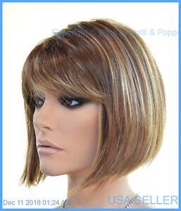 Riley by Riley Designer Synthetic Hair Medium Length Bob Wig *Color R8/26H