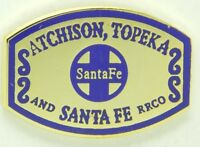 #PASS Patches- 6 Santa Fe Passenger Train patches NEW- Reproductions ATSF