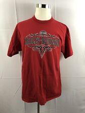 Mens Sz XL HARLEY DAVIDSON, Ben Breece Ottawa OH, Red T-Shirt